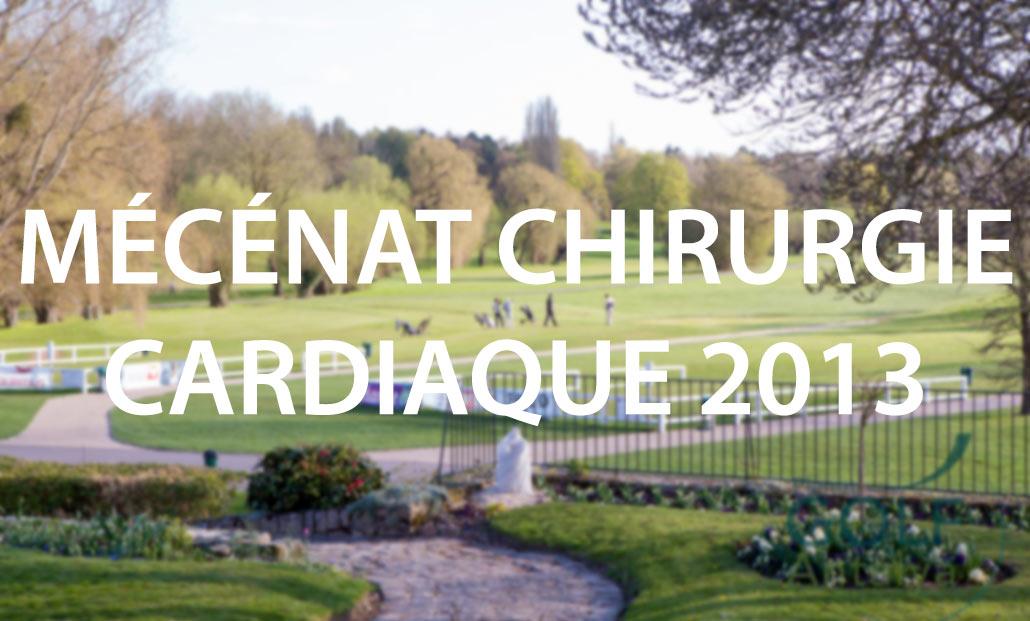 Participation au Mécénat Chirurgie Cardiaque 2013
